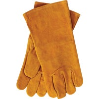 MST69L-R Home Impressions Leather Hearth Glove gloves work