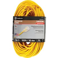 1489SW0002 Coleman Cable 14/3 Cold Weather Extension Cord