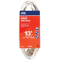 IPF-PT2163-13-WH Do it Best 16/3 Flat Plug Extension Cord cord extension
