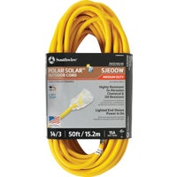 1488SW0002 Coleman Cable 14/3 Cold Weather Extension Cord