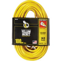 2888AC Yellow Jacket 14/3 Extension Cord With PowerLite Plug