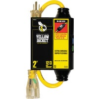 2817 Yellow Jacket 12/3 Contractor Grade GFCI Extension Cord cord extension jacket yellow