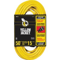 2737 Yellow Jacket Lockjaw 12/3 Extension Cord cord extension