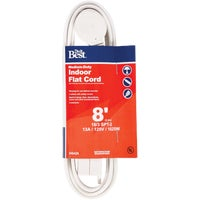 IPF-PT2163-8-WH Do it Best 16/3 Flat Plug Extension Cord cord extension