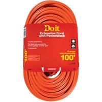 550820 Do it 12/3 Extension Cord With Powerblock cord do extension it