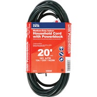 IP-JTW163-20X-GR Do it Best Medium-Duty Household Extension Cord With Powerblock cord do extension it