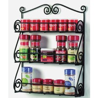 43710 Scroll Wall Mount Spice Rack rack spice