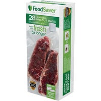 FSFSBF0326-NP FoodSaver Heat-Seal Pre-Cut Vacuum Sealer Bag FoodSaver Heat-Seal Pre-Cut Vacuum Sealer Bag
