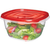 2086731 Rubbermaid TakeAlongs Square Food Storage Container FG7F54RE-TCHIL, Rubbermaid TakeAlongs Square Food Storage Container