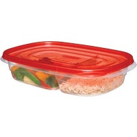 2086743 Rubbermaid Divided Food Storage Container FG7F57RE-TCHIL, Rubbermaid Divided Food Storage Container