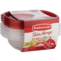 2086751 Rubbermaid TakeAlongs Sandwich Food Storage Container 1832533, Rubbermaid TakeAlongs Sandwich Food Storage Container