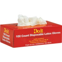 643742 Do it 1-Use Latex Disposable Glove disposable do gloves it