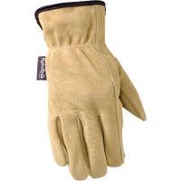 1003L Wells Lamont HydraHyde Womens Suede Work Glove