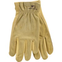 1124S Wells Lamont Womens Grain Cowhide Leather Work Glove gloves work