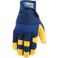 3207L Wells Lamont HydraHyde Adjustable Wrist Work Glove