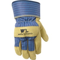 3300M Wells Lamont Grain Pigskin Leather Work Glove gloves work
