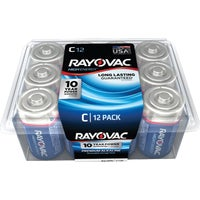 814-12PPK Rayovac High Energy C Alkaline Battery alkaline battery