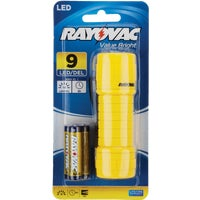 BE3AAA-BTA Rayovac 9 LED Mini Flashlight flashlight led