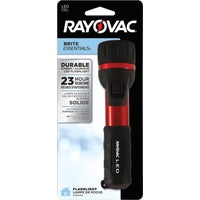 2AALED-B Rayovac Brite Essentials Aluminum LED Flashlight 2AA-B RBC, Rayovac Tuff Lite 2 AA Flashlight