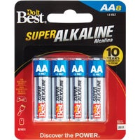 DIB815-8CF Do it Best AA Alkaline Battery alkaline battery