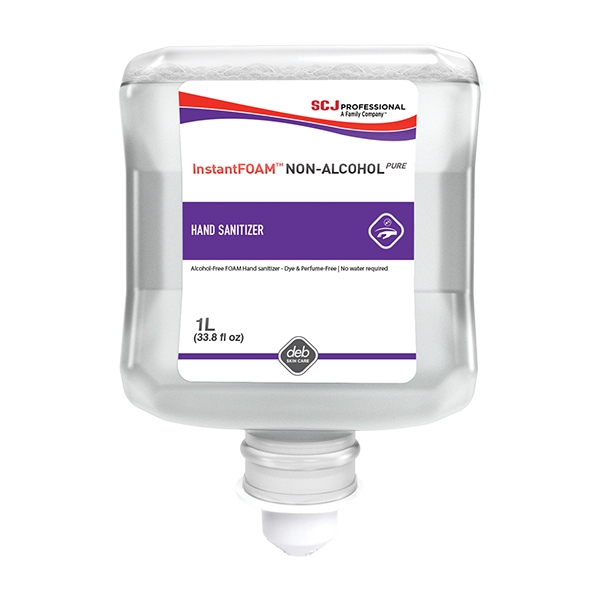 Deb 1l Instantfoam Hand Sanitiser Dispenser Replace Cartridge