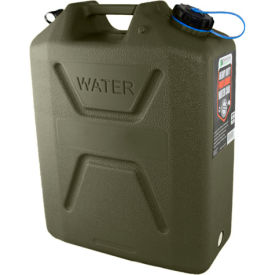 wavian water can, 3214 olive drab, 5 gallon with spout Wavian Water Can, 3214 Olive Drab, 5 Gallon with Spout