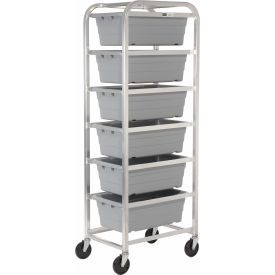 "new age 6263 all welded aluminum 6 lug cart, 26""l x 18-3/4""w x 71""h New Age 6263 All Welded Aluminum 6 Lug Cart, 26""L x 18-3/4""W x 71""H"