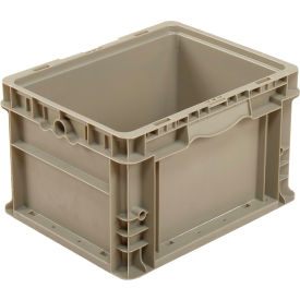 global industrial™ straight wall container solid - stackable nrso1215-09 gray - 12 x 15 x 9 Global Industrial™ Straight Wall Container Solid - Stackable NRSO1215-09 Gray - 12 x 15 x 9