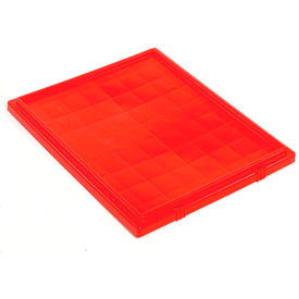 LID241RD Lid LID241 for Stacking & Nesting Totes - Shipping SNT240, Red