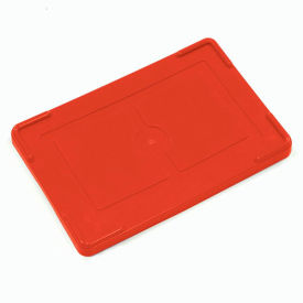 "COV93000RD Lid COV93000 for Plastic Dividable Grid Container, 22-1/2""L x 17-1/2""W, Red"