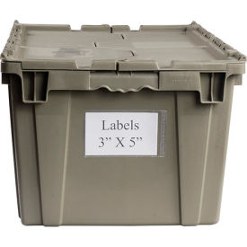 "BB-35 Aigner BB-35 Label Holder 3""x5"" for Shipping Containers Price per Pack of 25"