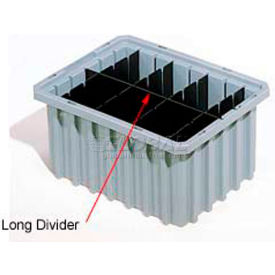 41166 Akro-Mils Short Divider 41166 For Akro-Grids Dividable Grid Containers 33166 Pack Of 6