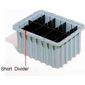 41168 Akro-Mils Short Divider 41168 For Akro-Grids Dividable Grid Containers 33168 Pack Of 6
