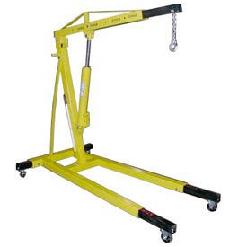 475002-Vestil Floor Crane with Telescopic Boom EHN-40-T 4000 Lb. Capacity
