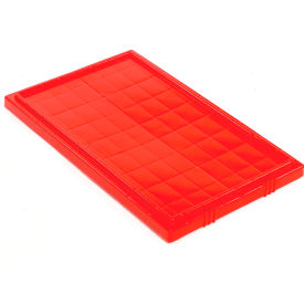 35201RED Akro-Mils Lid 35201 For Nest & Stack Tote 35200, Red
