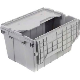 "39120GREY Akro-Mils Attached Lid Container 39120GREY - 21-1/2""L x 15""W x 12-1/2""H"