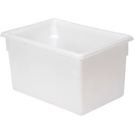 FG350100WHT Rubbermaid 3501-00 White Plastic Box 21.5 Gallon 18 x 26 x 15