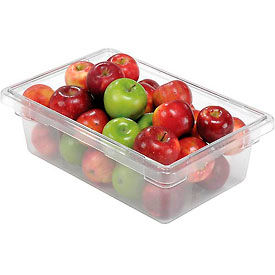 FG330900CLR Rubbermaid 3309-00 Clear Plastic Box 3 1/2 Gallon 18 x12 x 6