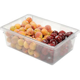 FG330000CLR Rubbermaid 3300-00 Clear Plastic Box 12 1/2 Gallon 18 x 26 x 9