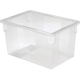 FG330100CLR Rubbermaid 3301-00 Clear Plastic Box 21 1/2 Gallon 18 x 26 x 15