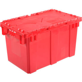 DC2213-12RED Plastic Storage Totes - Shipping Hinged Lid  DC2213-12 22-3/8 x 13 x 13 Red