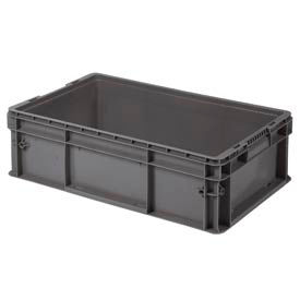 "buckhorn straight wall container sw241507f101000 solid 24""l x 15""w x 7-1/2""h, gray Buckhorn Straight Wall Container SW241507F101000 Solid 24""L x 15""W x 7-1/2""H, Gray"