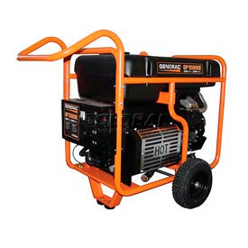 Generac® Portable Generator W/ Electric/Recoil Start, Gasoline, 15000 Rated Watts Generac® Portable Generator W/ Electric/Recoil Start, Gasoline, 15000 Rated Watts