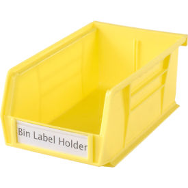 "TR-1300 Aigner TR-1300 Tri-Dex Label Holder 1"" x 3"" for Stacking Bin Price per Pack of 25"
