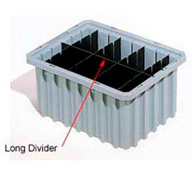42223 Akro-Mils Long Divider 42223 For Akro-Grids Dividable Grid Containers 33223 Pack of 6