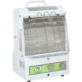PH-931 Portable Electric Space Heater - Catchers Mask Style 1500W 3 Speed W/Infrared & Convection Dual Heat