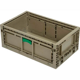 "KD2415-09GRAY Folding Transport Container KD2415-09 23-15/16""L x 15""W x 9-1/2""H Gray"