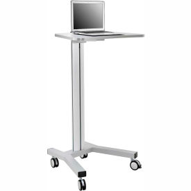 PC1000-A Mobile Height Adjustable Laptop Workstation