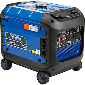 global industrial™ portable inverter generator w/ recoil start, gasoline, 2800 rated watts Global Industrial™ Portable Inverter Generator W/ Recoil Start, Gasoline, 3000 Watts
