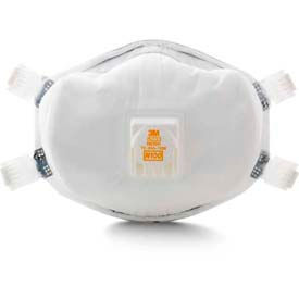 70070709012 3M; 8233 N100 Disposable Particulate Respirator, 1 Each